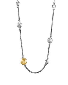 """JOHN HARDY - Sterling Silver & 18K Gold Palu Station Sautoir Necklace, 36"""""""