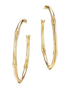John Hardy Bamboo 18K Yellow Gold Large Hoop Earrings - Bloomingdale's_0