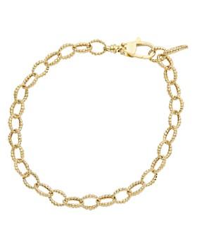 LAGOS - 18K Yellow Gold Caviar Link Bracelet