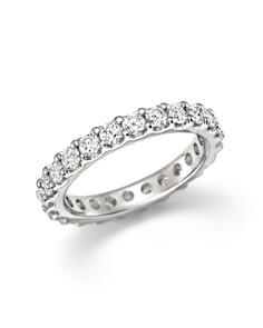 Bloomingdale's - Diamond Eternity Band in 14K White Gold, 1.50 ct. t.w.- 100% Exclusive