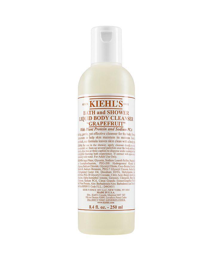 Kiehl's Since 1851 - Bath & Shower Liquid Body Cleanser in Grapefruit 8.4 oz.