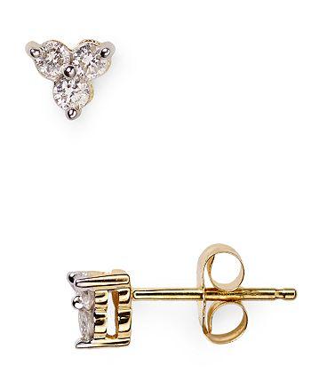 Adina Reyter - Diamond Cluster Stud Earrings