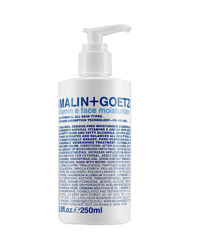 MALIN and GOETZ - Vitamin E Face Moisturizer 8.5 oz.