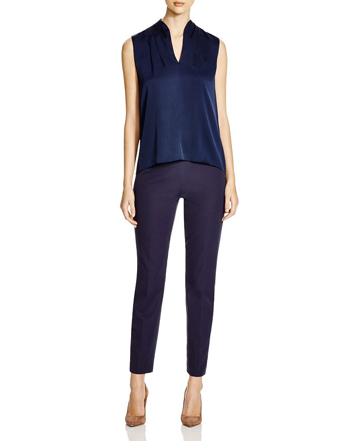 602de45c2255f1 Elie Tahari Judith Stretch Silk Blouse | Bloomingdale's