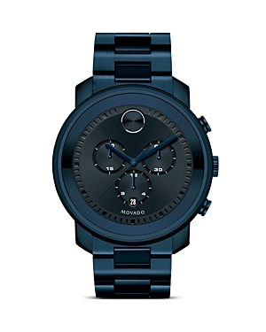 Movado Bold Large Chronograph, 44mm-Jewelry & Accessories