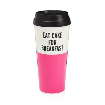 kate spade new york - Thermal Mug, Eat Cake For Breakfast