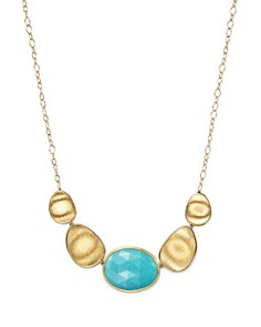 "Marco Bicego 18K Yellow Gold Turquoise Necklace, 16.5"" - Bloomingdale's_0"
