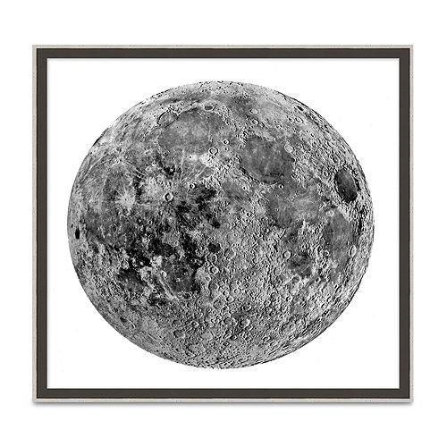 Wendover Art Group - Cratered Moon Wall Art