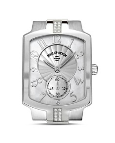 Philip Stein - Classic Sport Small Diamond and Mother of Pearl Watch Head, 27mm
