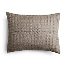 "Vera Wang Marble Shibori Fold And Stitches Decorative Pillow, 15"" x 22"""