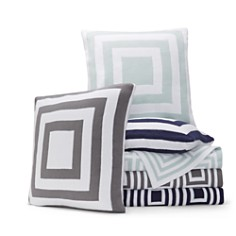 Hudson Park Collection - Geo Knit Decorative Pillows and Throws - 100% Exclusive