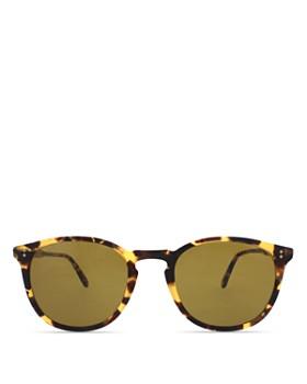 GARRETT LEIGHT - Men's Kinney Round Sunglasses, 49mm