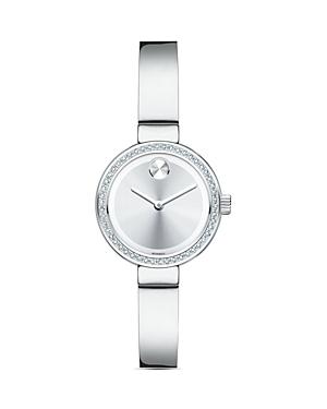 Movado Bold Bangle Watch with Diamonds, 25mm