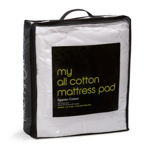 Bloomingdale's My All Cotton Mattress Pad, Twin - 100% Exclusive