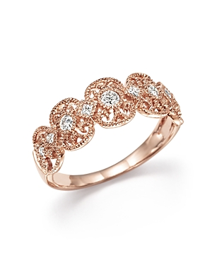 Diamond Band Ring in 14K Rose Gold, .25 ct. t.w. - 100% Exclusive