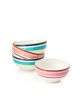 kate spade new york - Wickford Stripe Dessert Bowls, Set of 4 - 100% Exclusive