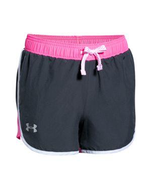 Under Armour Girls' Fast Lane Shorts - Big Kid