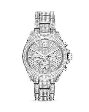 Michael Kors Wren Pave Chronograph Watch, 41.5mm