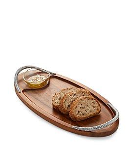Nambé - Braid Serving Board with Dish