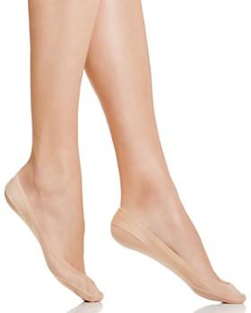 HUE - Classic Silicone Edge Liner Socks