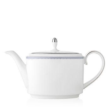Vera Wang - Wedgwood Grosgrain Indigo Teapot