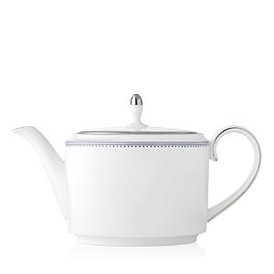 Vera Wang Wedgwood Grosgrain Indigo Teapot