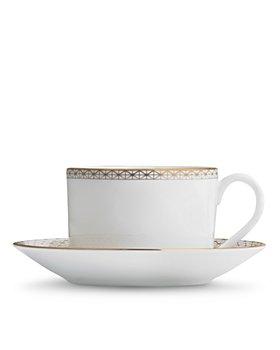 Waterford - Lismore Diamond Teacup & Saucer
