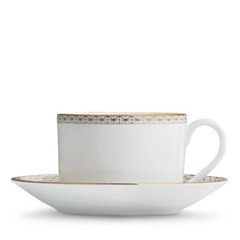 Waterford - Lismore Diamond Teacup & Saucer