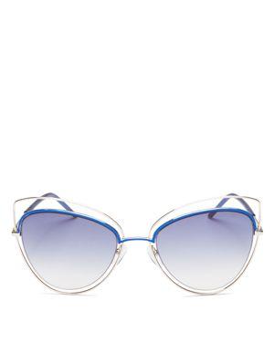 Marc Jacobs Floating Cat Eye Sunglasses, 56mm