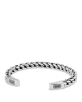 David Yurman - Chain Woven Cuff Bracelet