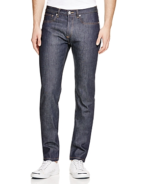 A.p.c. Petit Standard Straight Slim Fit Jeans in Indigo Stretch