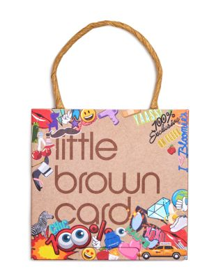 Bloomingdale's Emoji Little Brown Gift Card