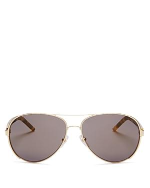 Marc Jacobs Classic Aviator Sunglasses, 60mm