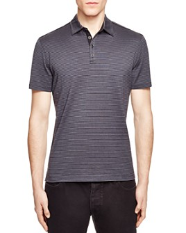 John Varvatos Collection - Striped Slim Fit Polo