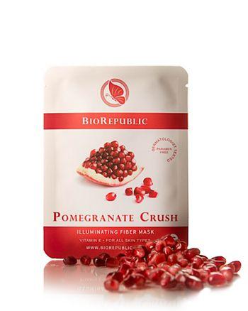 BioRepublic - Pomegranate Crush Illuminating Fiber Sheet Mask, 1 Mask