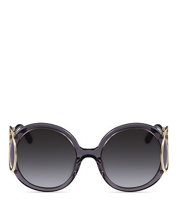 Chloé - Women's Jackson Round Sunglasses, 56mm