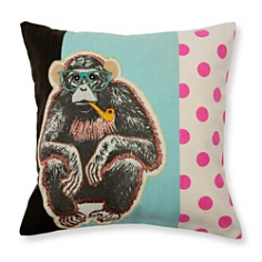 Madura Wise Monkey Decorative Pillow and Insert - Bloomingdale's_0