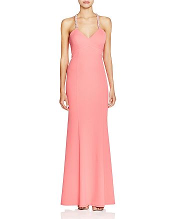 Decode 1.8 - Beaded Cross Back Gown
