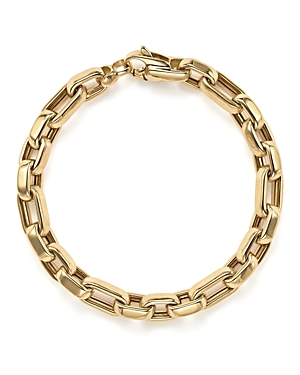 14K Yellow Gold Oval Link Bracelet - 100% Exclusive