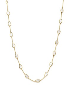 IPPOLITA - 18K Yellow Gold Rock Candy® Station Necklace with Mother-of-Pearl, 16""