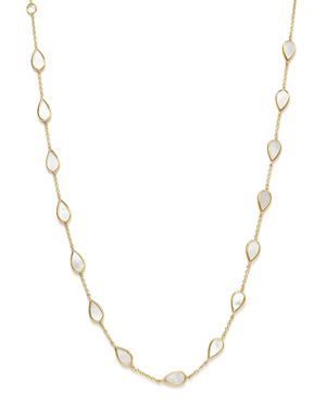 Ippolita 18K Yellow Gold Rock Candy Station Necklace with Mother-of-Pearl, 16