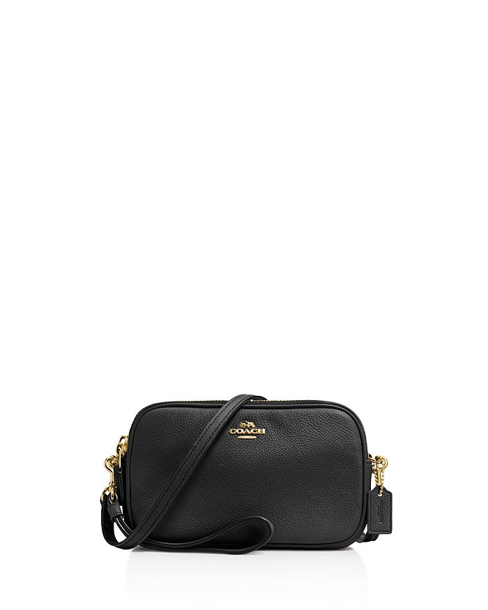 dcddb31cf COACH Pebble Leather Crossbody | Bloomingdale's