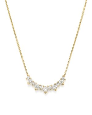 Diamond Graduated Pendant Necklace in 14K Yellow Gold, .70 ct. t.w. - 100% Exclusive
