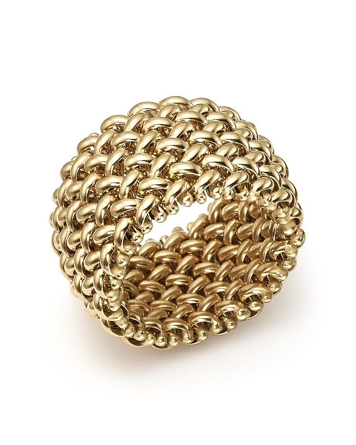 Bloomingdale's - Woven Ring in 14K Yellow Gold  - 100% Exclusive