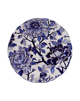 Gien France - Piviones Bleu Dessert Plate