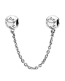 Pandora - Moments Collection Sterling Silver Signature Safety Chain