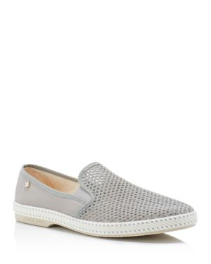 Rivieras Classic 20 Woven Slip On Sneakers