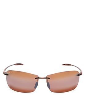 Maui Jim - Unisex Lighthouse Rimless Sunglasses, 65mm