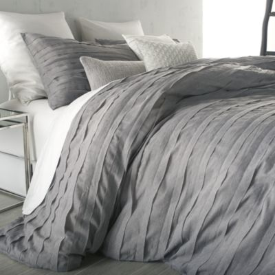 Dkny Loft Stripe Grey Duvet Cover King Bloomingdale S