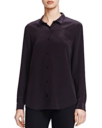 The Kooples - Silk Crepe de Chine Shirt